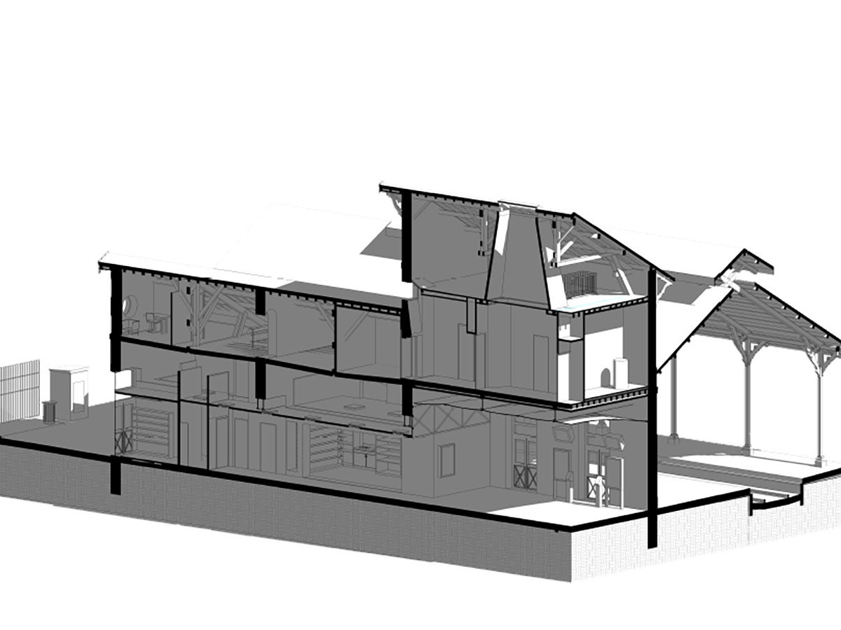 modelado bim - arquitectura - arcachon | BIM ESCANER