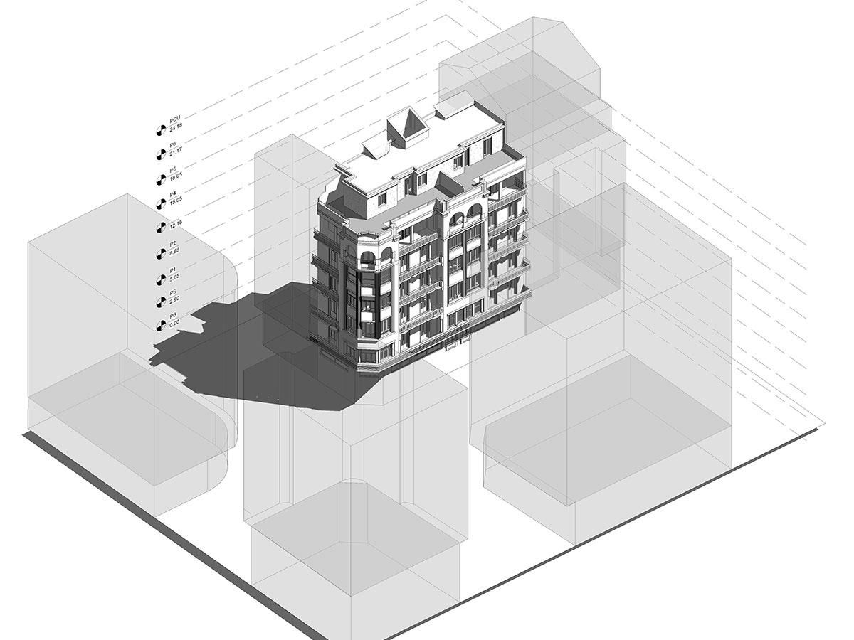 modelado bim - arquitectura - secundino esnaola | BIM ESCANER