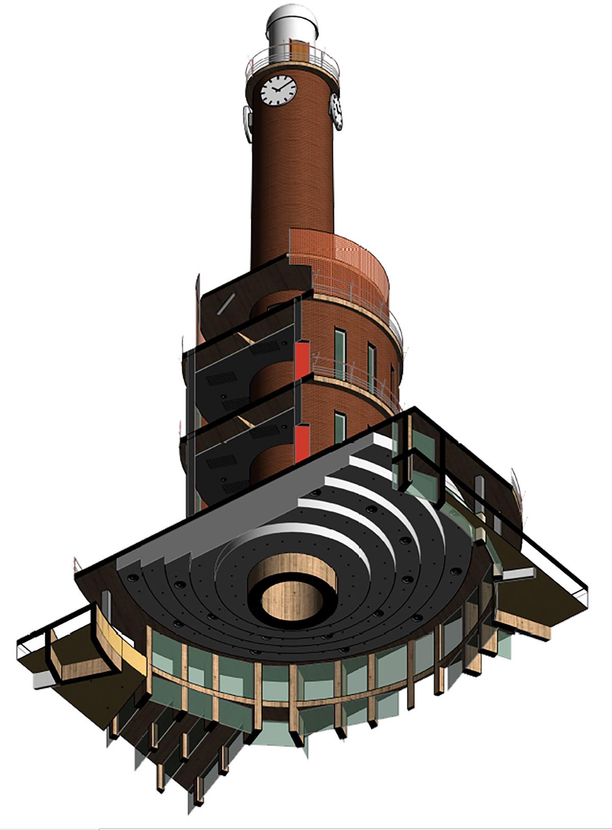 modelado bim - arquitectura - torre cartagena | BIM ESCANER