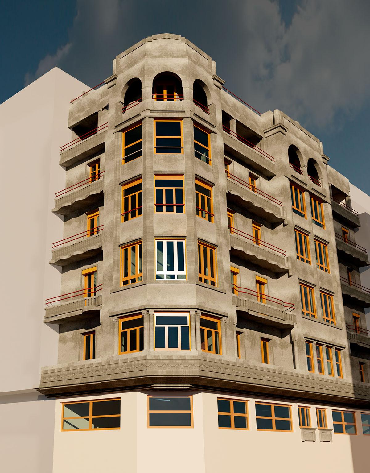 modelado bim - arquitectura - vistas realistas | BIM ESCANER