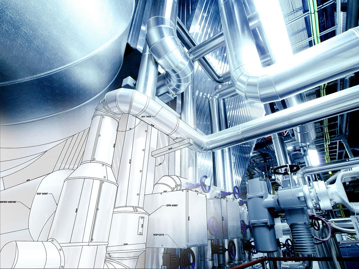 modelado BIM en instalaciones | BIM ESCANER