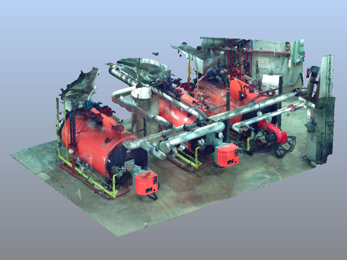 láser y escaneado 3D - industria | BIM ESCANER