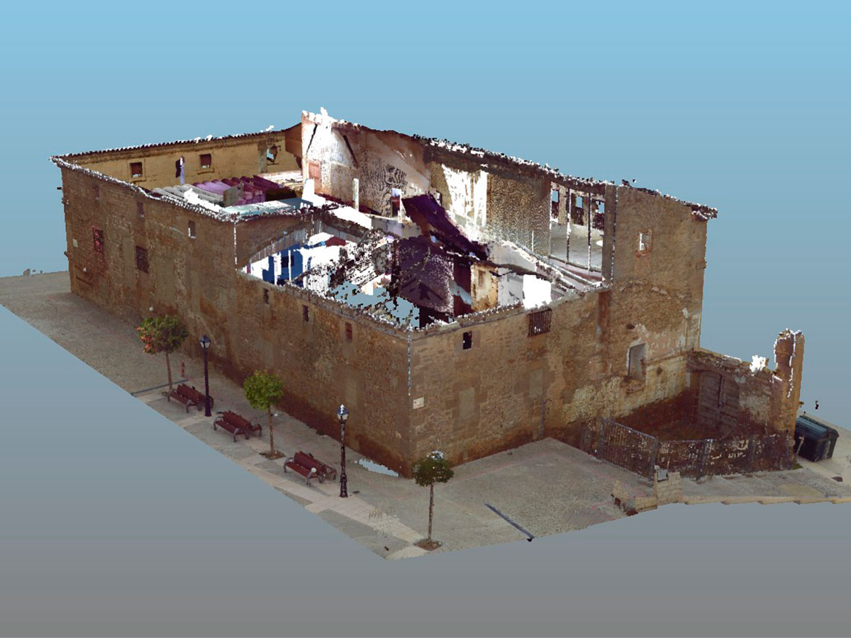láser escáner 3D - nube de puntos - patrimonio histórico | BIM ESCANER