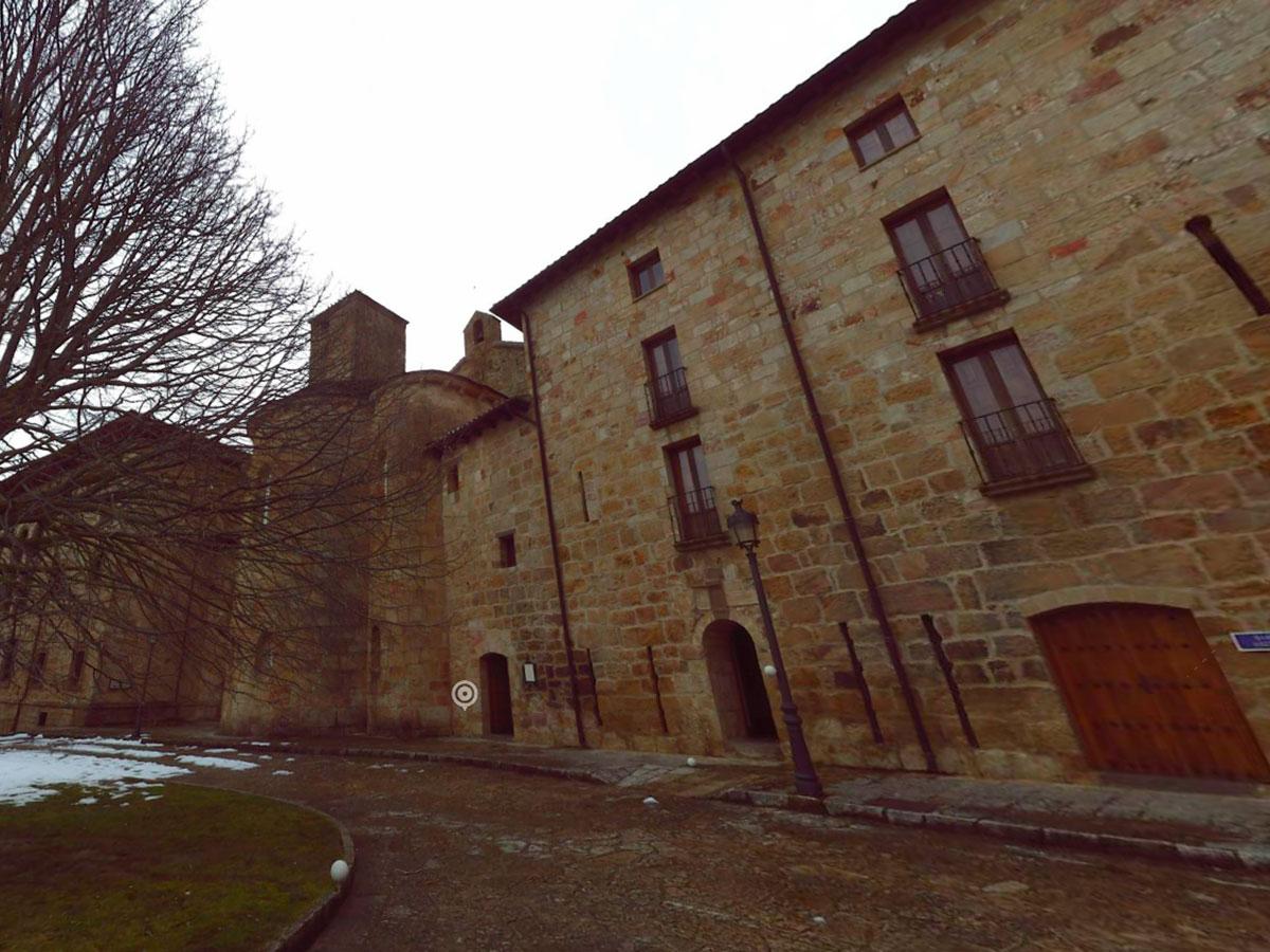 escaneado 3D - nube de puntos - monasterio de leyre | BIM ESCANER