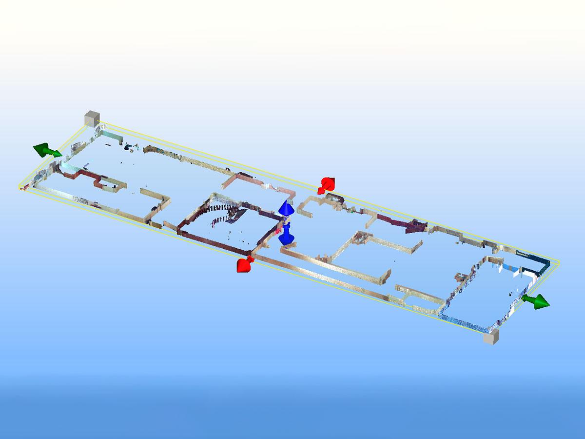 escaneado 3D - nube de puntos - rue pilori | BIM ESCANER