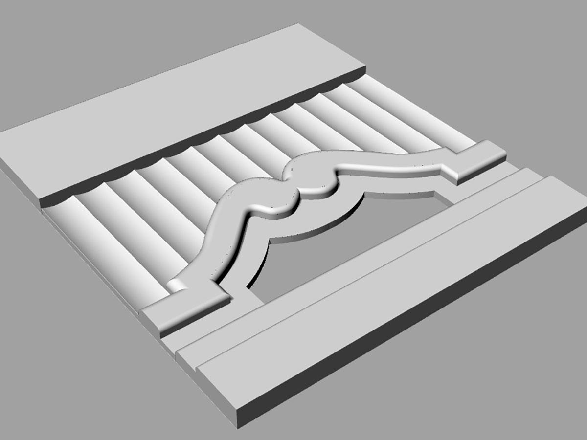 bim - modelado de molduras 3D | BIM ESCANER