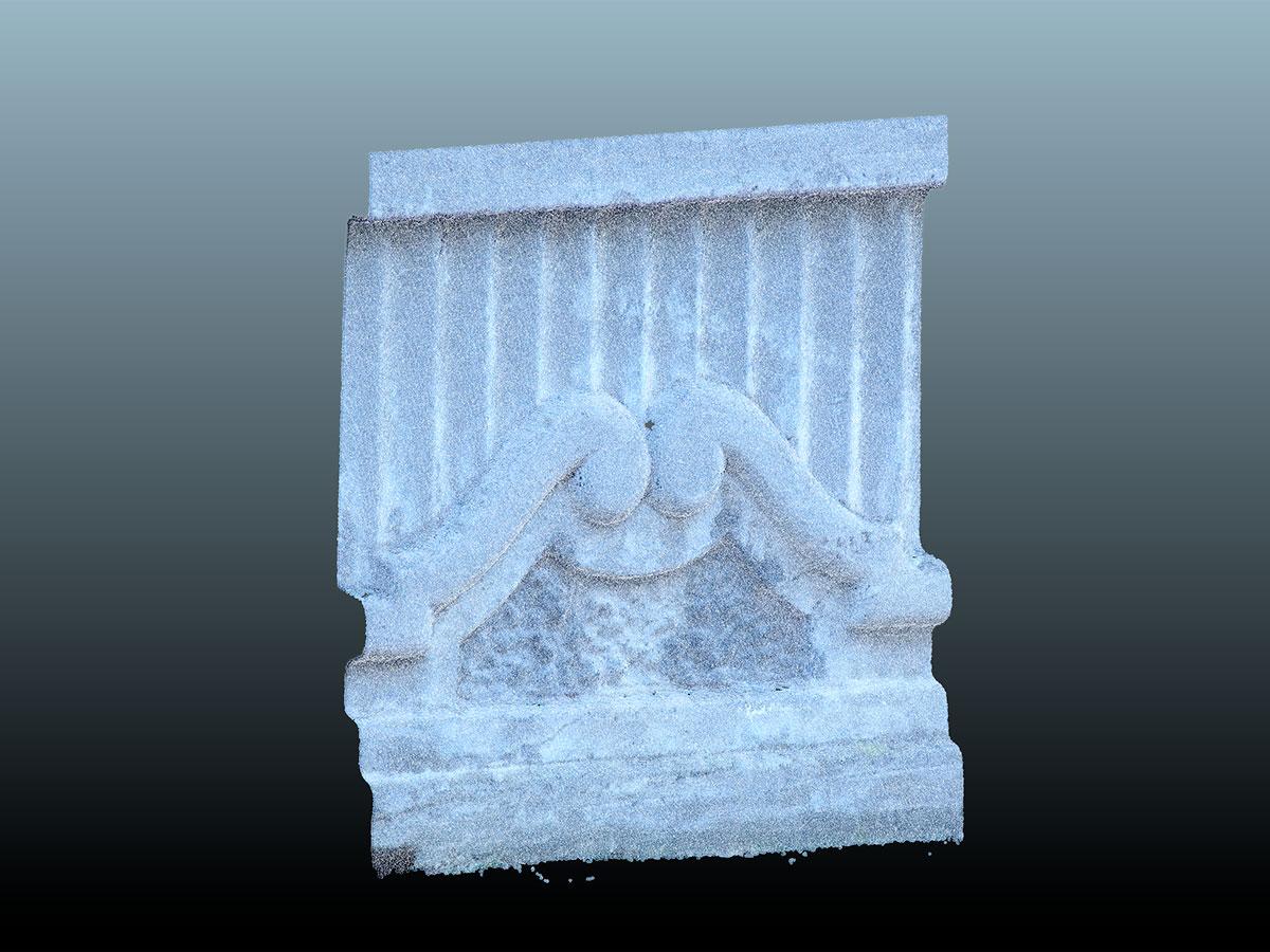escaneado 3D - ornamentos fachadas - molduras | BIM ESCANER