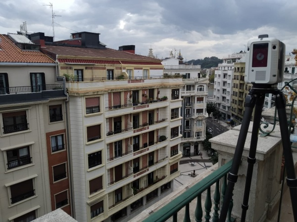 Zabaleta 2 - Donostia - PROYECTOS DESTACADOS - Levantamiento por Escáner 3D