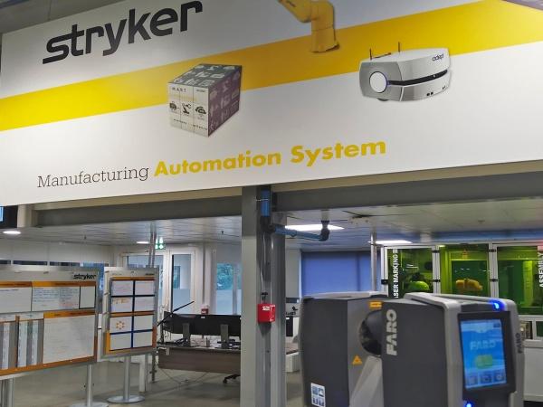Fábrica de Stryker, Cestas (Francia) - PROYECTOS DESTACADOS - Levantamiento por Escáner 3D